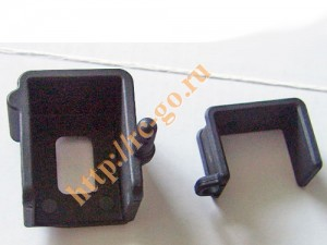 BS701-038 Battery base & cover/Rr фото