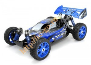 R0027 VRX-2 buggy printed PC body (blue) фото