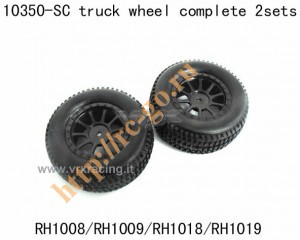 10350 SC truck wheel complete 2 sets фото