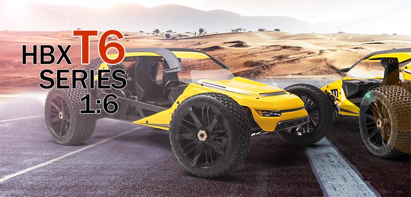 Купить Багги на радиоуправлении HBX Dune Thunder 4WD RTR