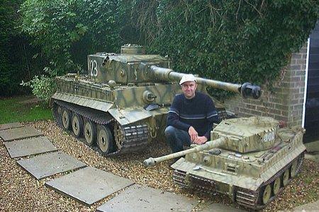 К примеру, модель танка Тигр 1
