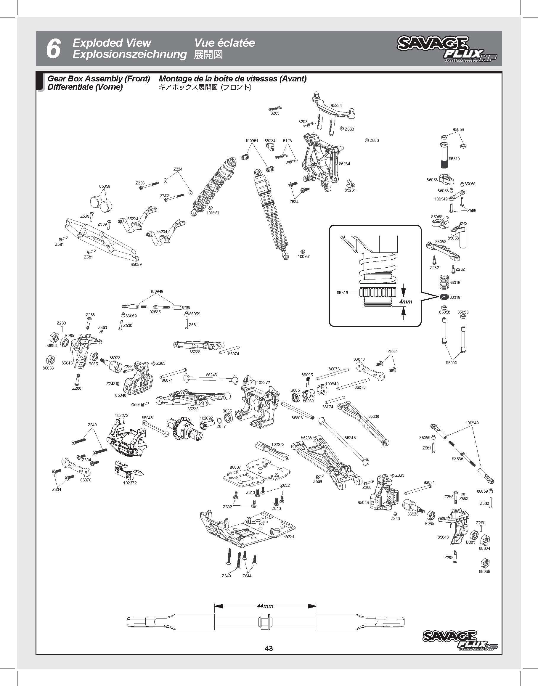 hpi savage diagram traxxas savage diagram