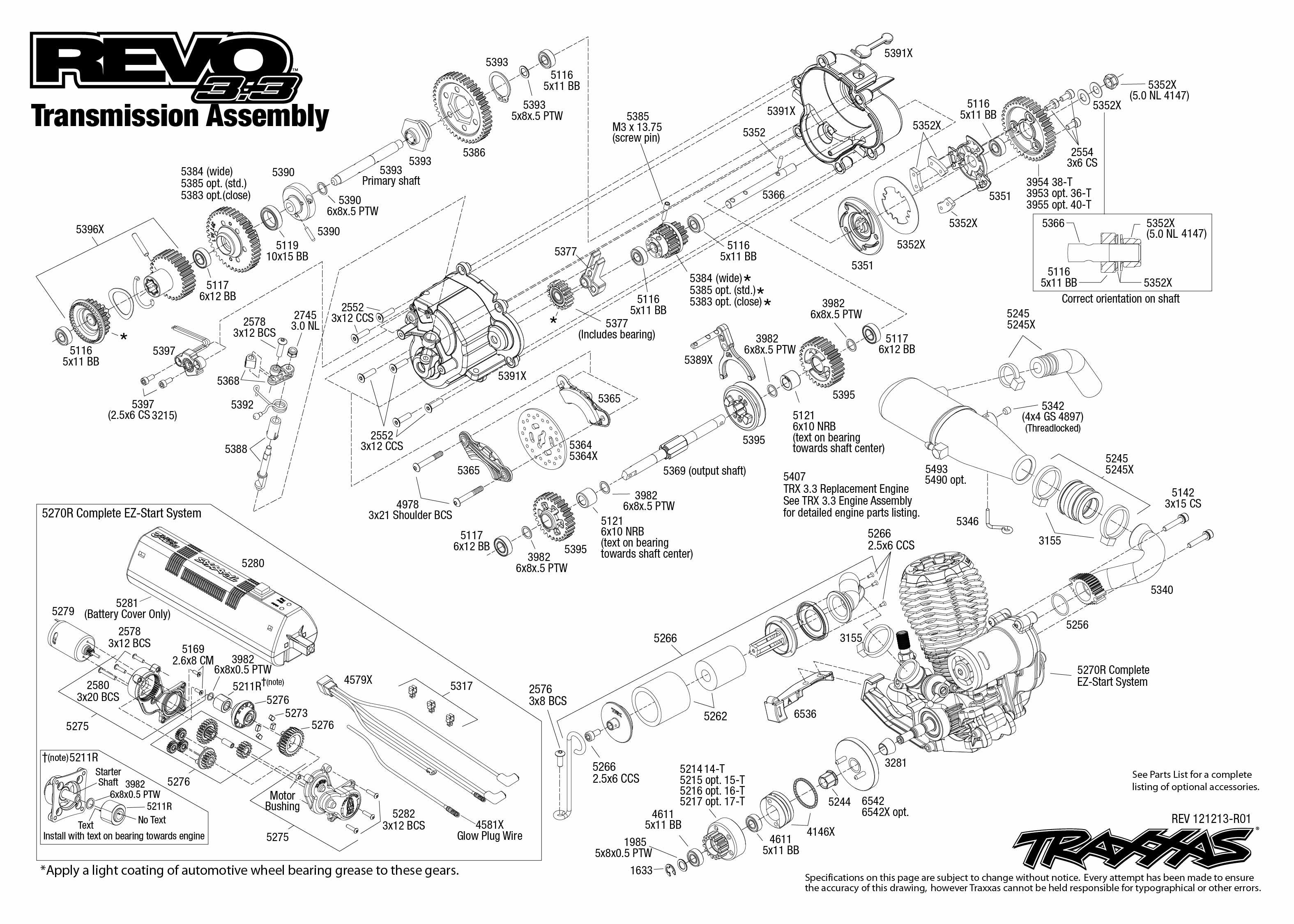 Traxxas Nitro Sport Parts Diagram Rustler For Revo Transmission Stampede E Brushless Edition 3150x2250