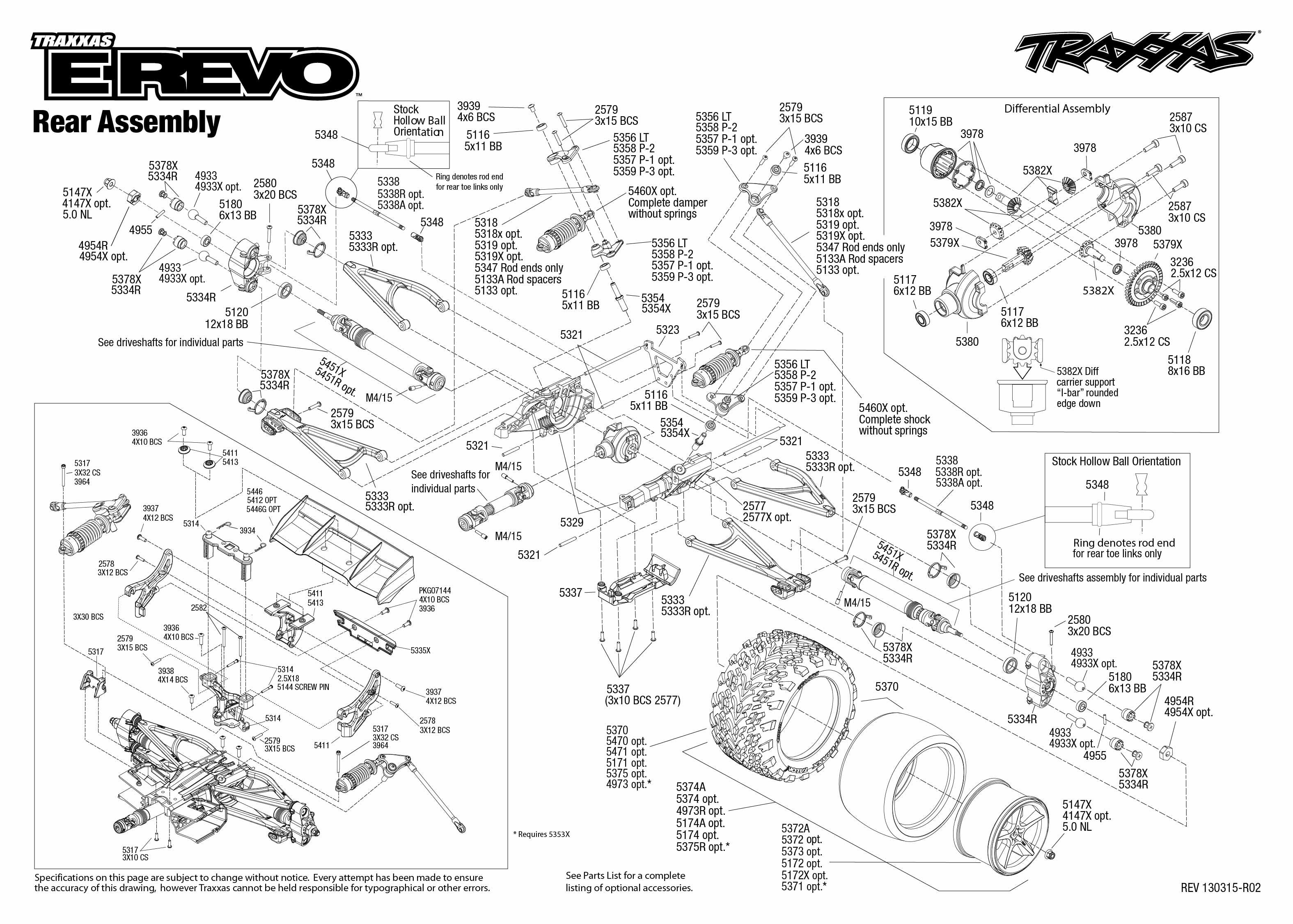 traxxas revo 3.3 assembly manual