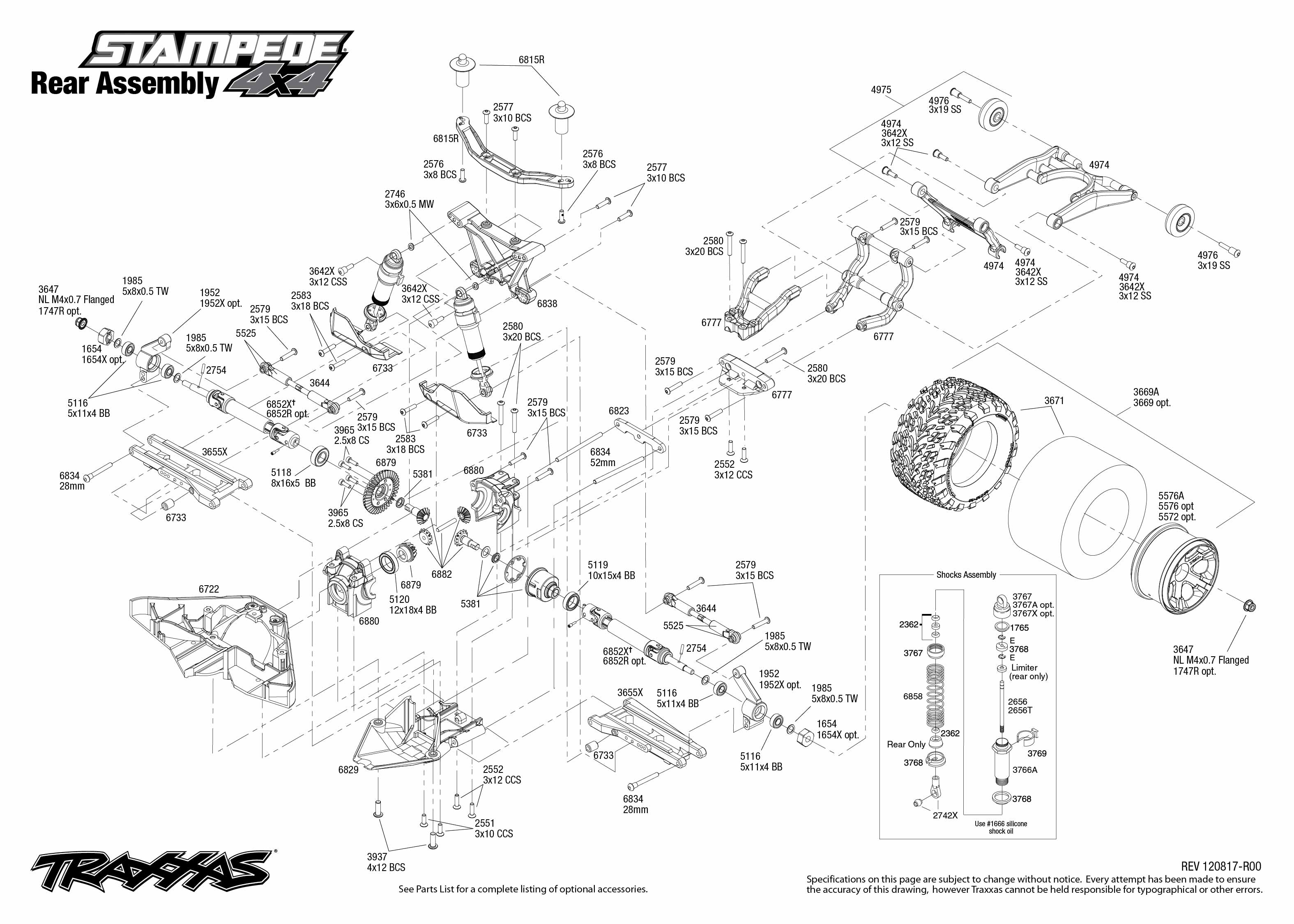 Extraordinary traxxas rustler parts diagram ideas best image slash 4x4 rear diagram wiring diagram and engine diagram contemporary traxxas pooptronica Images
